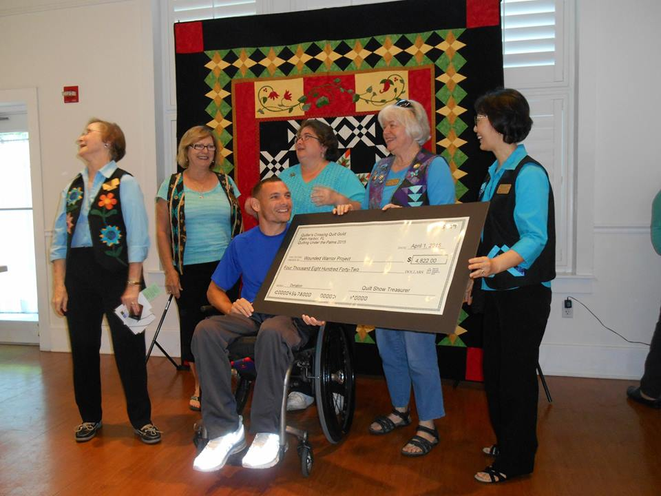 Wounded Warrior Check Presentation